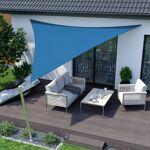 Jarolift Voile d'ombrage triangulaire, tissu respirant, azur, 5... par LeGuide.com Publicité