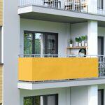 Jarolift Brise-vue pour balcon Basic, tissu respirant, Jaune, 0,9 x 5... par LeGuide.com Publicité