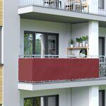 Jarolift Brise-vue pour balcon Basic, tissu imperméable, Bordeaux, 0,9... par LeGuide.com Publicité