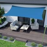 Jarolift Voile d'ombrage rectangulaire, tissu respirant, azur, 400x300... par LeGuide.com Publicité