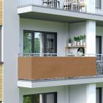 Jarolift Brise-vue pour balcon Basic, tissu respirant, Brun, 0,9 x 3... par LeGuide.com Publicité