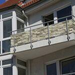 Jarolift Brise-vue pour balcon Basic, tissu imperméable, Motif depierre,... par LeGuide.com Publicité