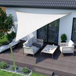 Jarolift Voile d'ombrage triangulaire, tissu respirant, blanc, 7... par LeGuide.com Publicité