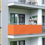 Jarolift Brise-vue pour balcon Basic, tissu respirant, Orange, 0,9 x... par LeGuide.com Publicité