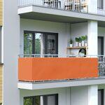 Jarolift Brise-vue pour balcon Basic, tissu imperméable, Orange, 0,9... par LeGuide.com Publicité