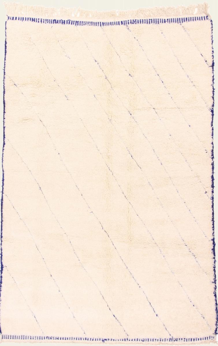 Nain Trading Tapis Berber Beni Ourain 306x199 Moderne/Design (Noué à la main, Laine, Maroc)