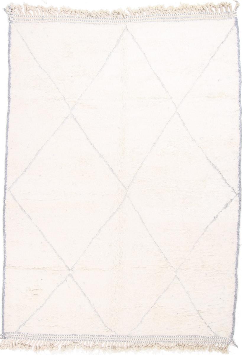 Nain Trading Tapis Authentique Berber Maroccan Beni Ourain 314x231 Gris (Laine, Maroc, Noué à la main)
