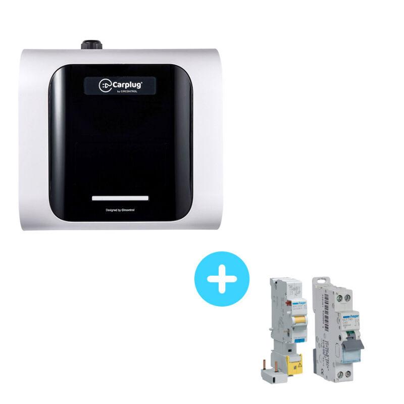CIRCONTROL Pack Borne de Recharge CIRCONTROL eNext S - 2,3kW à 7,4kW - monophasé 10A-32A + Protections électriques 7,4Kw