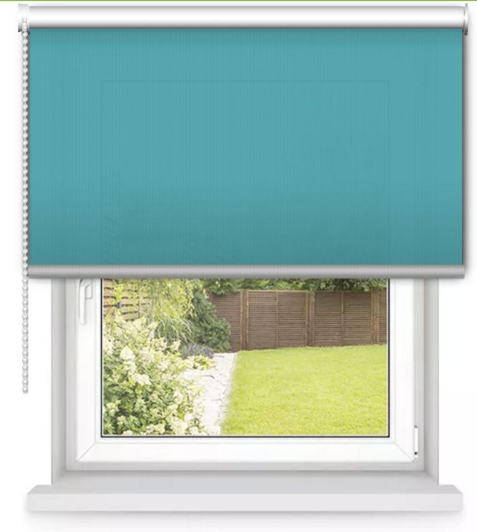 AVOSDIM Store enrouleur Bleu turquoise sur mesure