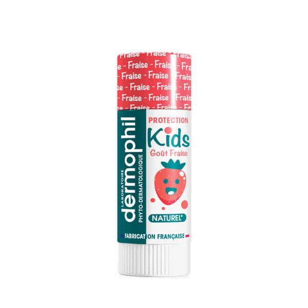 Dermophil indien Kids protection lèvres fraise 4g