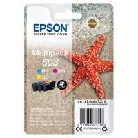 Epson Cartouche d'encre EPSON Multipack 3 Couleurs 603 T03U5