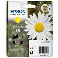 Epson Cartouche d'encre EPSON T1804 jaune