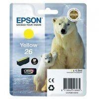 Epson Cartouche d'encre EPSON T2614 jaune - Ours polaire