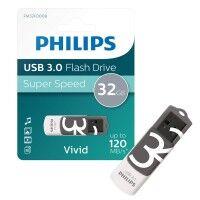 Philips Clé USB PHILIPS PHILIPS CLE VIVID 32GO 3.0 GRY