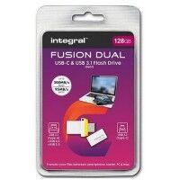 INTEGRAL Clé USB INTEGRAL INFD128GBFUSDUAL3.0-C