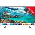 samsung  Samsung TV LED 4K 189 cm SAMSUNG UE75RU7105 - HDR10+ - PurColor... par LeGuide.com Publicité