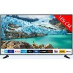 samsung  Samsung TV LED 4K 189 cm SAMSUNG UE75RU7025 Téléviseur 138 cm... par LeGuide.com Publicité
