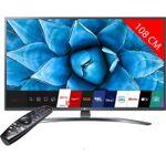 lg electronics  LG TV LED 4K 108 cm LG 43UN74006LB Téléviseur LED Ultra... par LeGuide.com Publicité