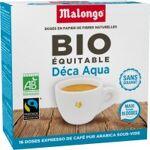 malongo  MALONGO Café MALONGO Café Déca Aqua - 16 dosettes 1 paquet BIO... par LeGuide.com Publicité