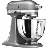 KitchenAid Robot culinaire KITCHENAID Artisan 5KSM125ECU Gris Argent