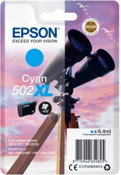 Epson Cartouche d'encre origine Epson 502 / C13T02W24010 XL Cyan