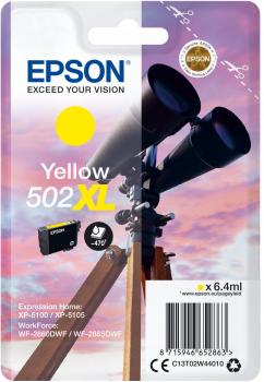 Epson Cartouche d'encre origine Epson 502 / C13T02W44010 XL Jaune