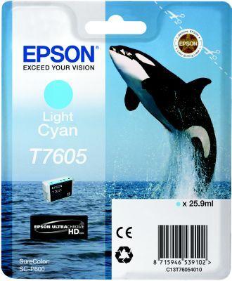 Epson Cartouche EPSON T7605 cyan clair Orque