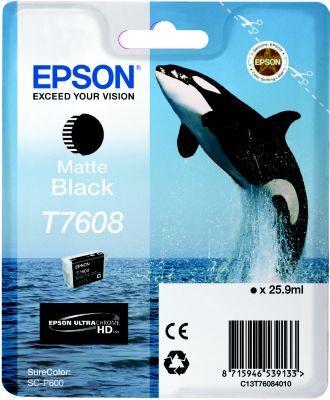 Epson Cartouche EPSON T7608 noir mat Orque