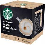 nestle  Nestle Dosette NESTLE STARBUCKS BY DOLCE GUSTO Capsules LATTE MACCHIATO... par LeGuide.com Publicité