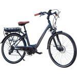 essentiel b  Essentielb Vélo VAE ESSENTIELB URBAN 600 28  gris n Conçu... par LeGuide.com Publicité