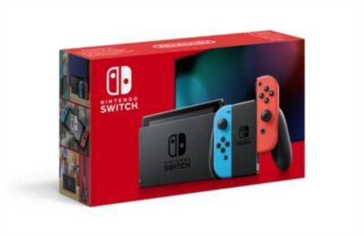 Nintendo Console NINTENDO Switch 2019 Bleue / Rou
