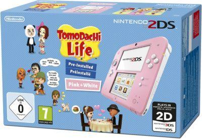 Nintendo Console NINTENDO 2DS Rose/Blanche + Tomo