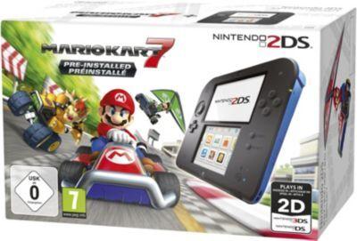 Nintendo Console NINTENDO 2DS Noire/Bleue + Mario