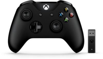 Microsoft Manette MICROSOFT Xbox One + Adaptateur