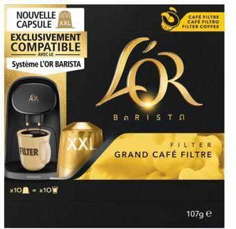 L'or Capsules L'OR L'OR BARISTA GRAND CAFE FI