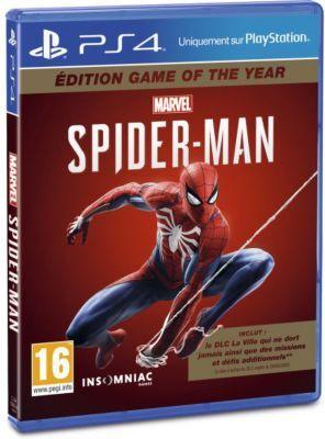 Sony Jeu PS4 SONY Marvel's Spider-Man GOTY