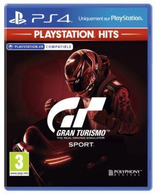 Sony Jeu PS4 SONY Gran Turismo Sport HITS