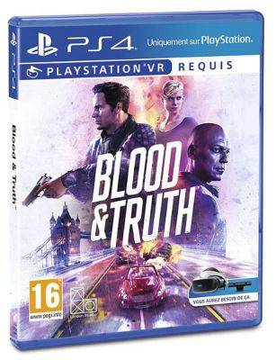 Sony Jeu PS4 SONY Blood and Truth VR