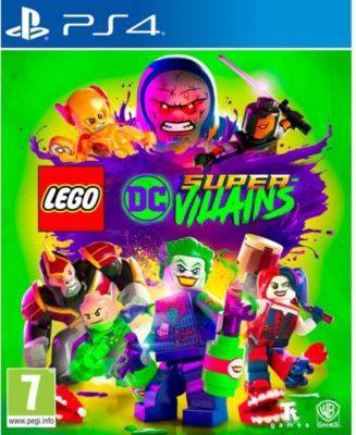 Warner Jeu PS4 WARNER Lego DC Super Vilains