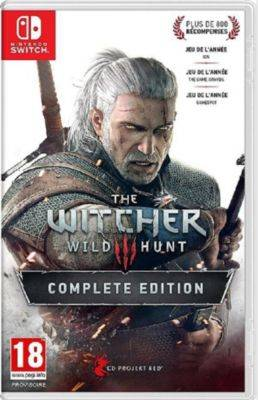 Namco Jeux SWITCH NAMCO The Witcher 3