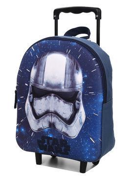 Disney Sac à dos à roulettes Star Wars Soldat Impérial 33 cm maternelle Bleu
