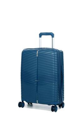 Samsonite Valise cabine rigide Samsonite Darts 55 cm - Ouverture Flexible Petrol Blue bleu
