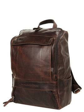 The Chesterfield Brand Sac à dos The Chesterfield Brand Rich Square Marron