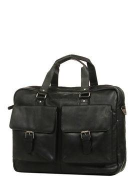 The Chesterfield Brand Sac ordinateur The Chesterfield Brand Dylan 17 pouces Noir