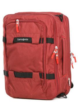 Samsonite Sac à dos ordinateur 3-Way Samsonite Sonora 15.6 pouces Barn Red rouge Solde