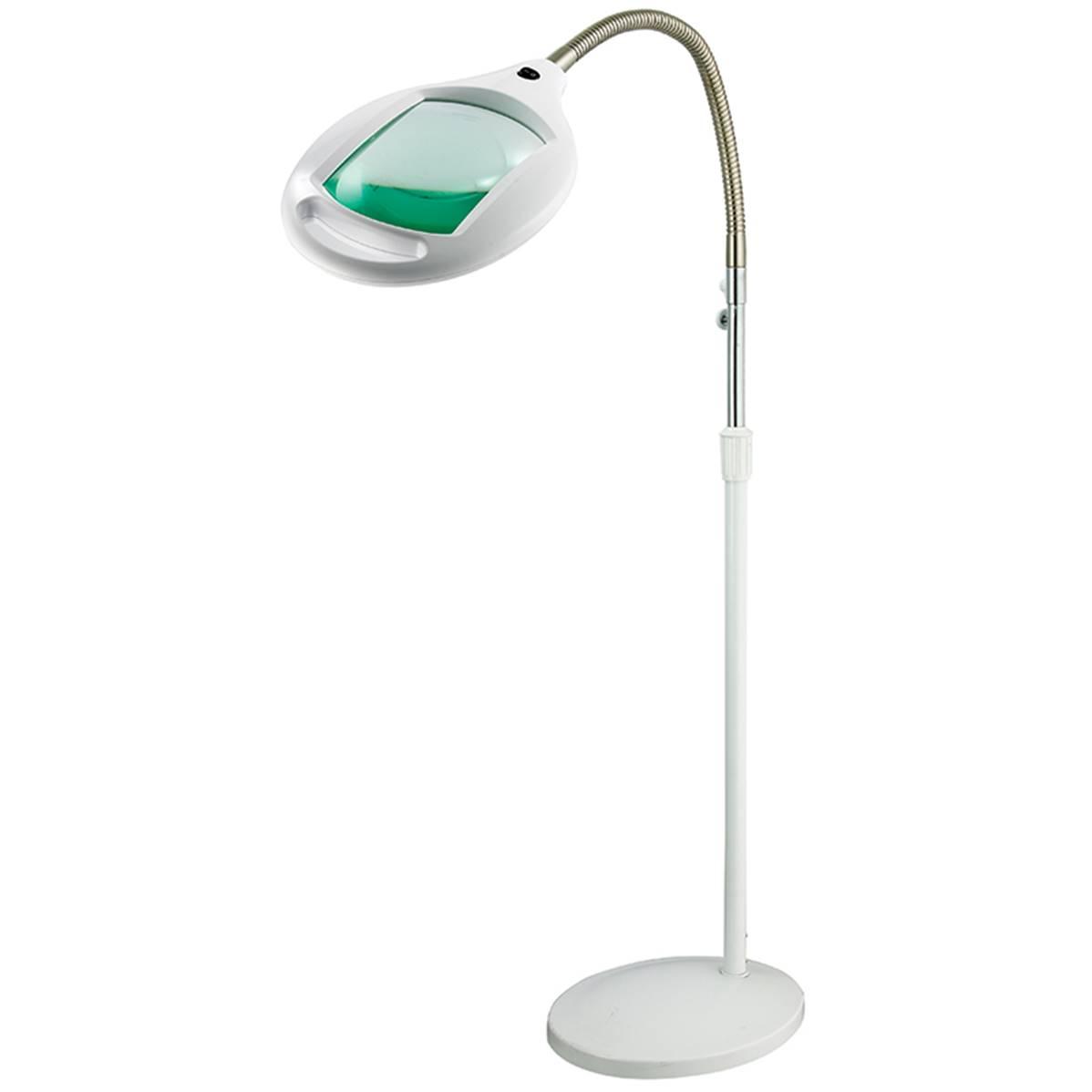 Multirex Lampe loupe sur pied à LED