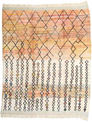 Noué à la main. Origine: Morocco Tapis Fait Main Berber Moroccan - Mid Atlas 281X341 Beige/Marron Clair Grand (Laine, Maroc)