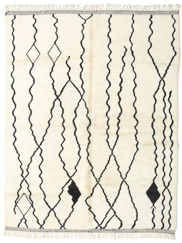 Noué à la main. Origine: Morocco 252X322 Tapis Berber Moroccan - Beni Ourain Moderne Fait Main Beige/Blanc/Crème Grand (Laine, Maroc)