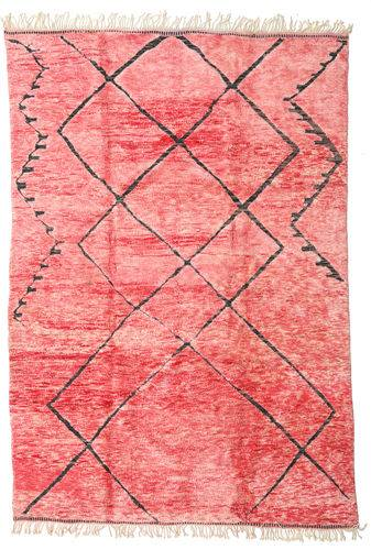 Noué à la main. Origine: Morocco Tapis Berber Moroccan - Mid Atlas 240X365 Rose Clair/Rose (Laine, Maroc)