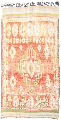 Noué à la main. Origine: Morocco Tapis Fait Main Berber Moroccan - Mid Atlas 157X260 Beige/Rose Clair/Beige Foncé (Laine, Maroc)